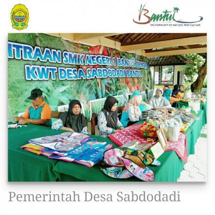 Kelompok Wanita Tani Sabdodadi Andil Dalam Sekolah Sehat di SMK N 1 Bantul