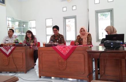 Pembentukan Forum Data Tingkat Kecamatan Bantul